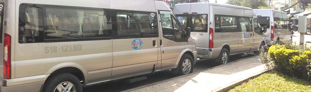 Cho thuê xe du lịch 16 chỗ - Cty TNHH Lai Hoàn Cầu